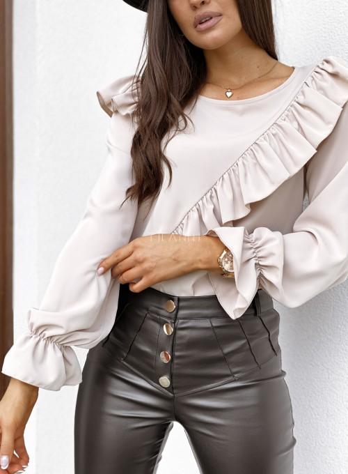 Bluzka Isabella beżowa 5