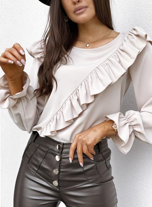 Bluzka Isabella beżowa 1