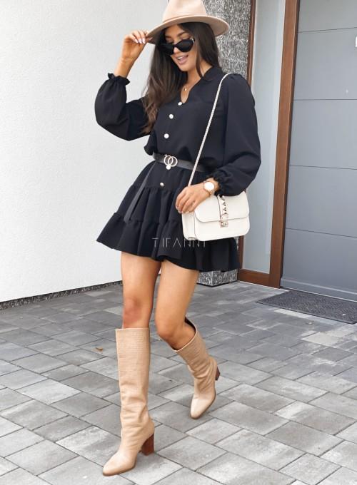 Sukienka Santi czarna 3
