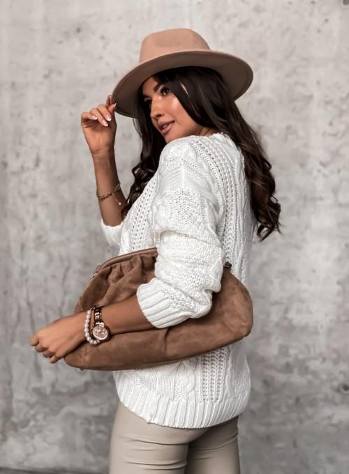 Sweter rozpinany Pango śmietankowy 5