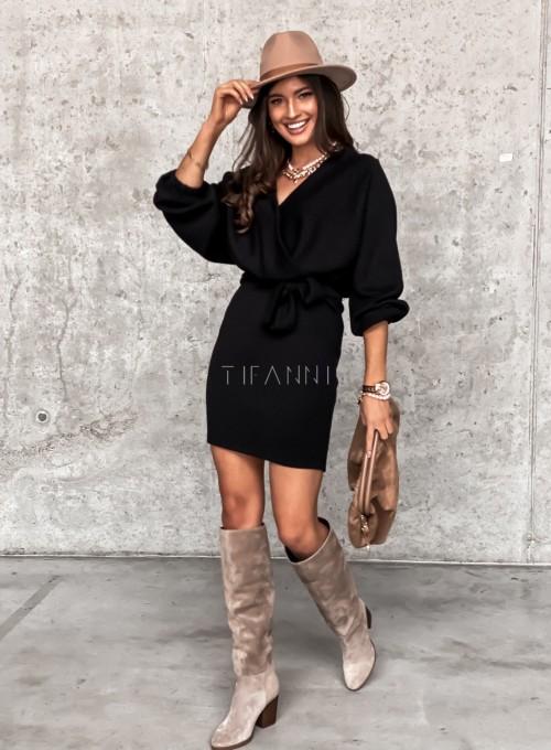 Sukienka Clody czarna 1