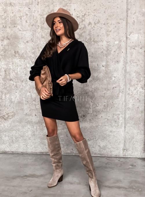 Sukienka Clody czarna 3