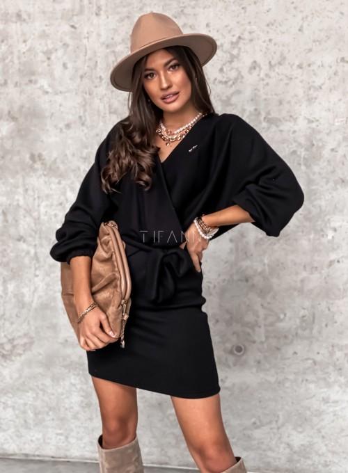 Sukienka Clody czarna 5