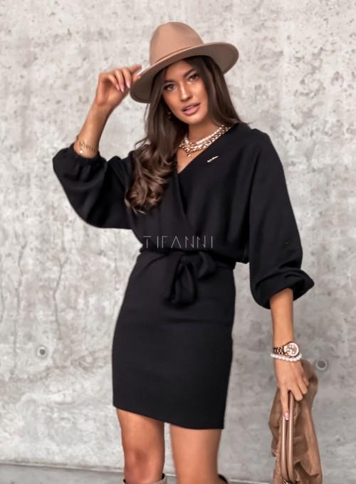 Sukienka Clody czarna 2