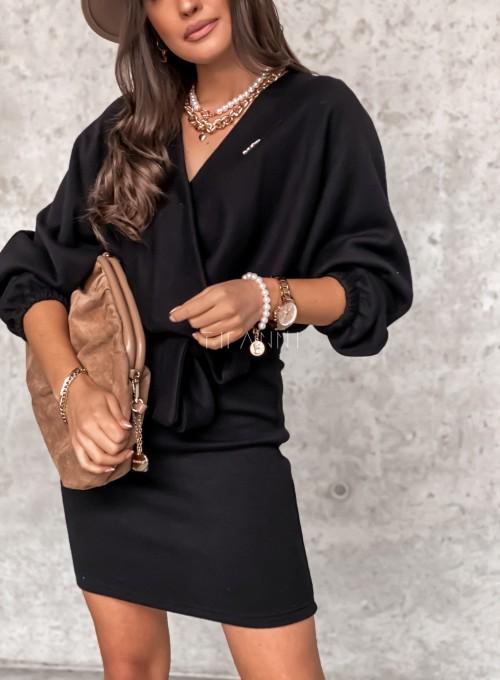 Sukienka Clody czarna 4