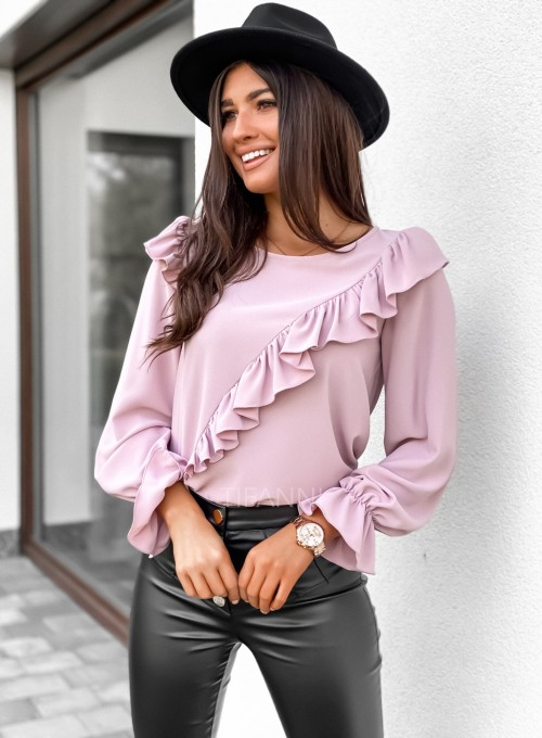 Bluzka Isabella pudrowa