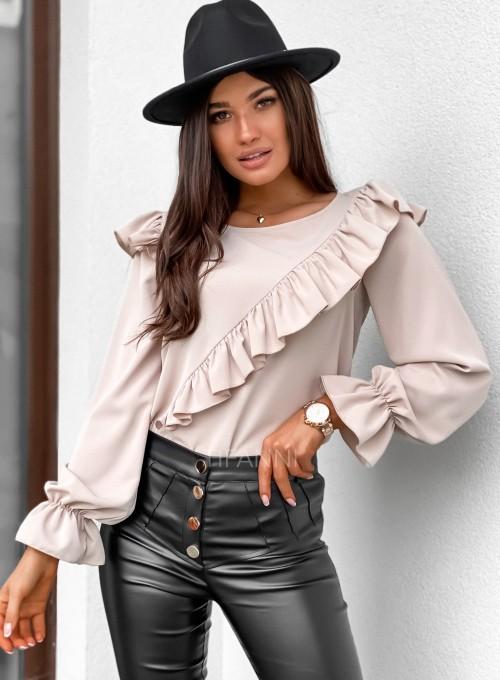 Bluzka Isabella beżowa