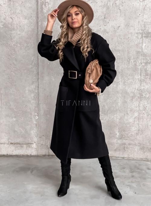 Płaszcz Victoria czarny