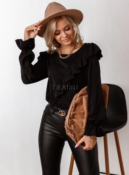 Bluzka Isabella czarna