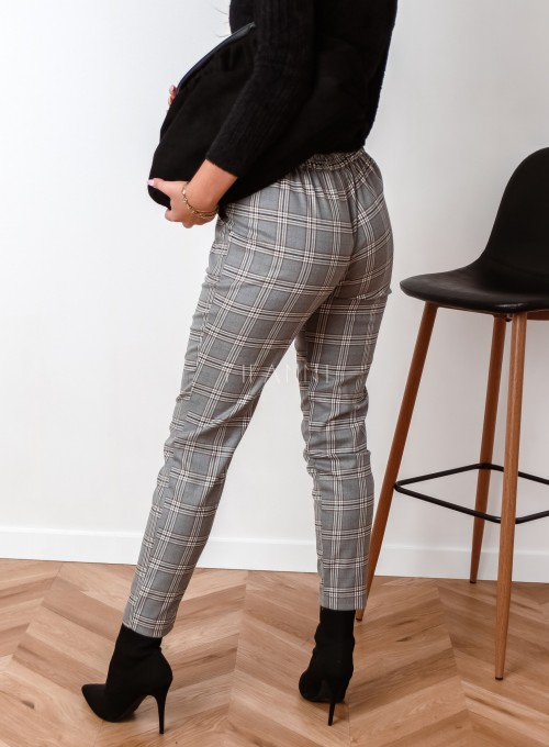 Spodnie Liverno krata 2