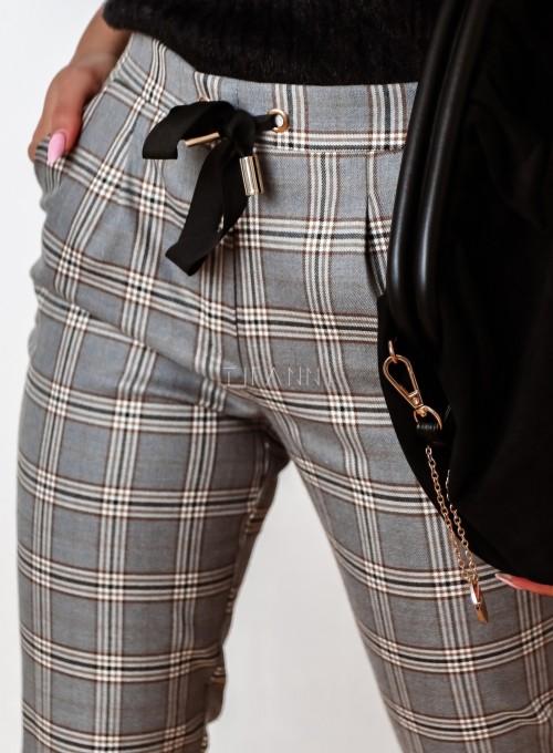 Spodnie Liverno krata 3