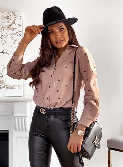 Bluzka koszulowa Diva