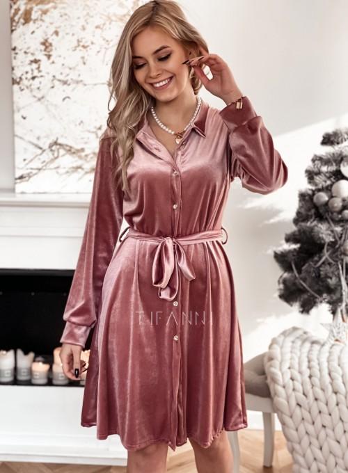 Aksamitna sukienka Stella