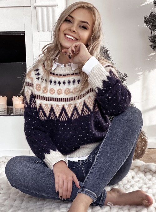 Sweter Christmas Isola
