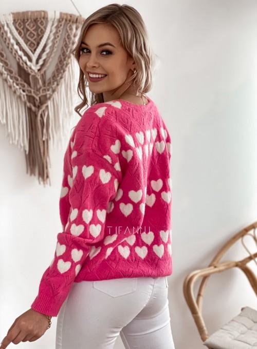 Sweter Malibu pink 4