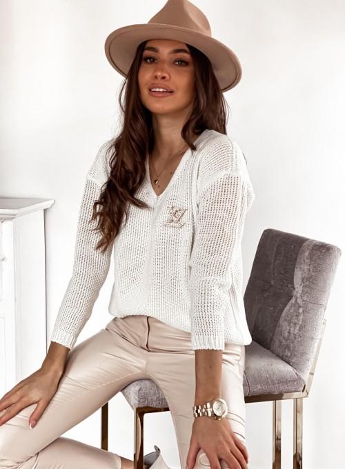 Sweter Santi śmietankowy 3