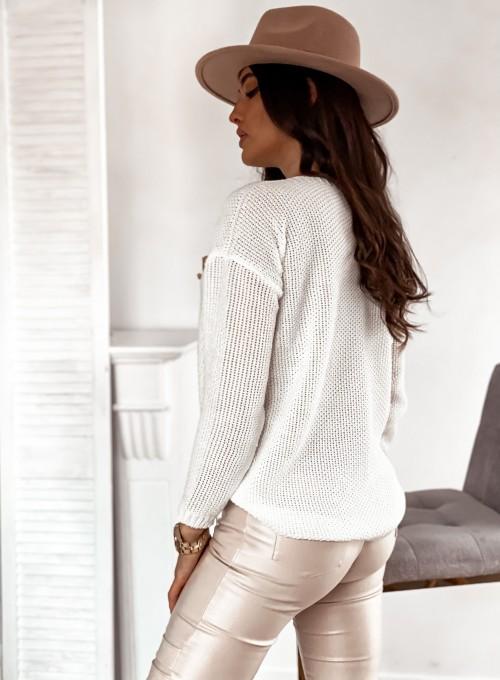 Sweter Santi śmietankowy 5