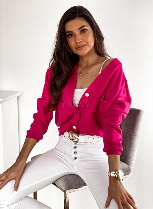 Sweter Daffi pink 2