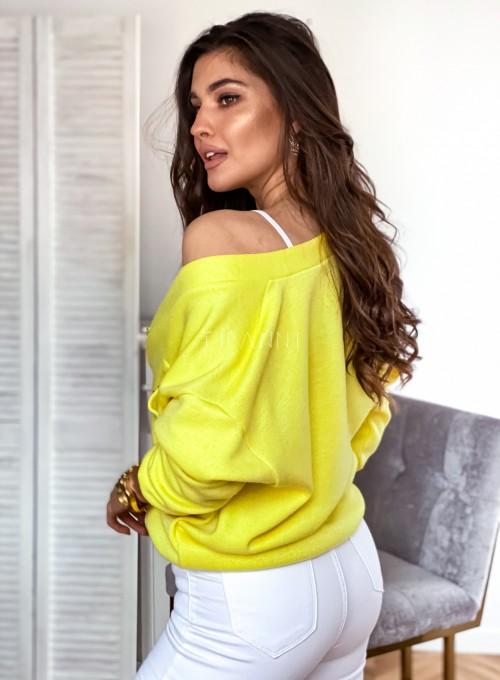 Sweter Daffi bananowy 3