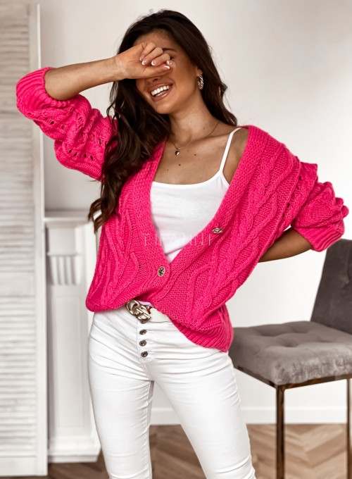 Sweter Lania pink 3