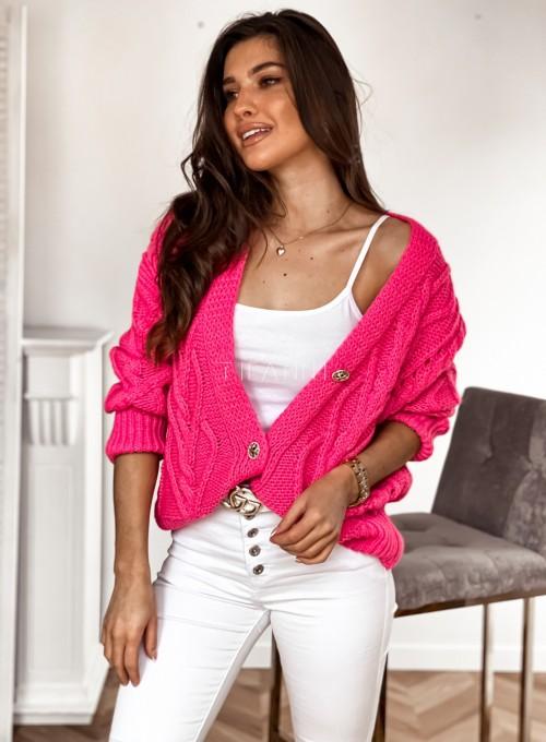 Sweter Lania pink 5