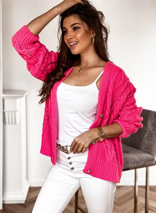 Sweter Lania pink 2