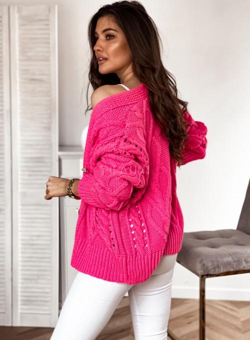 Sweter Lania pink 6