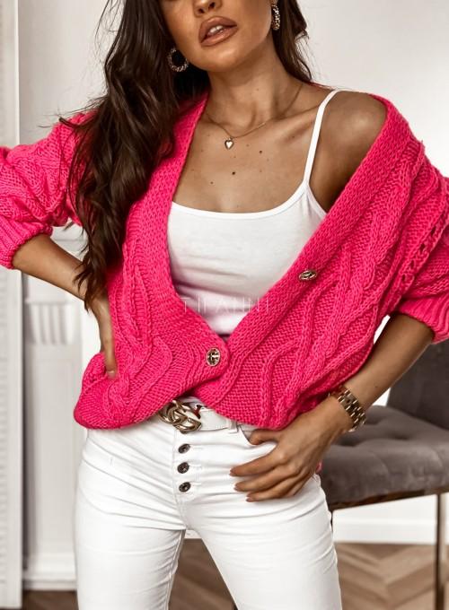 Sweter Lania pink 1