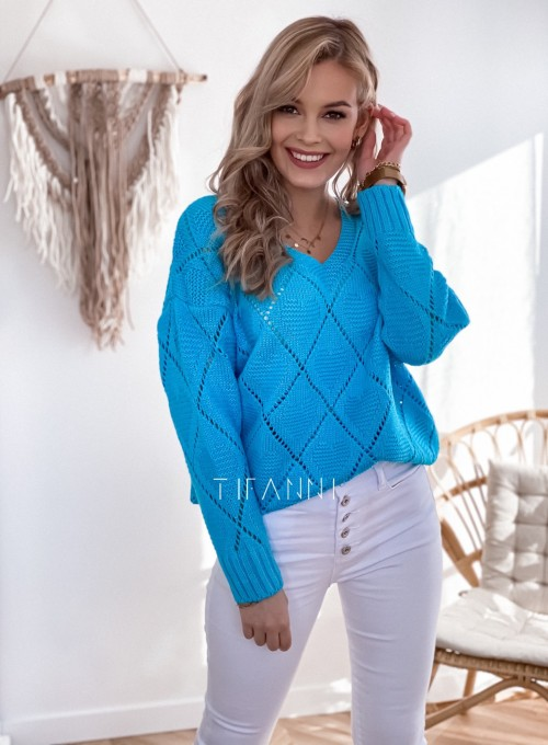Sweter Dotty blue