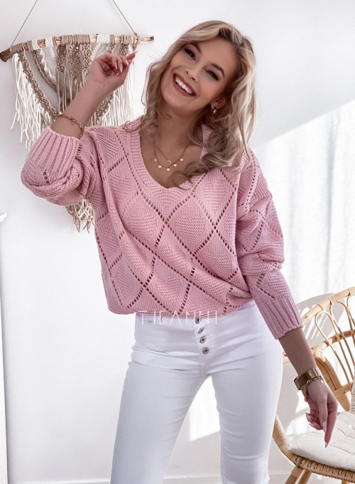 Sweter Dotty puder