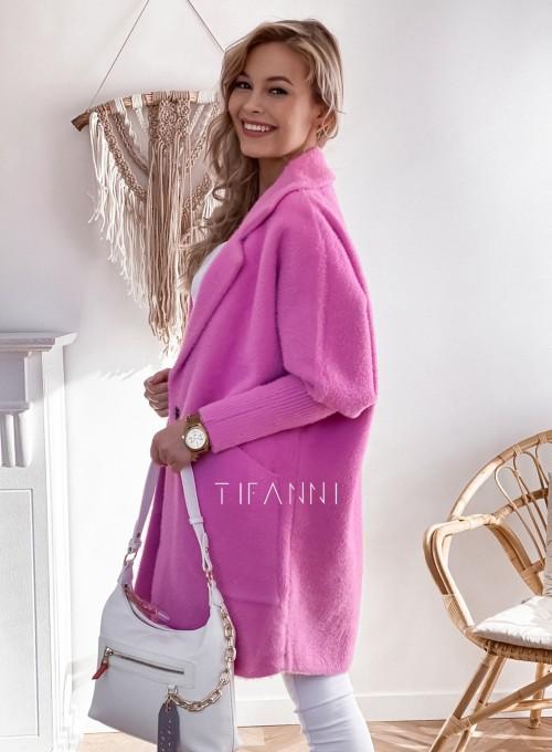 Płaszcz Alpaka pink 2