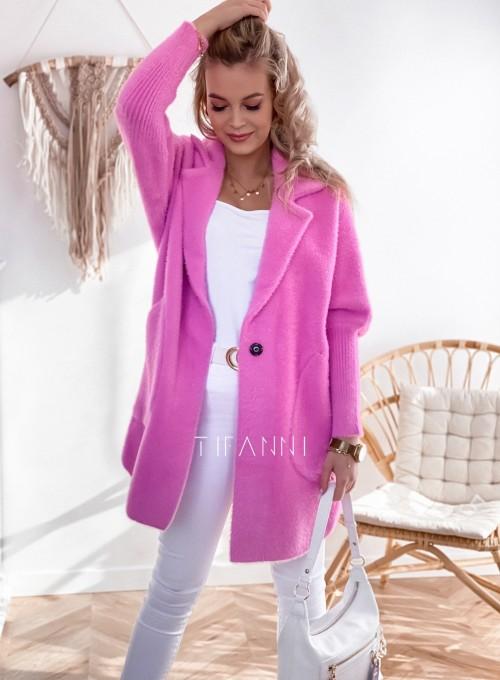 Płaszcz Alpaka pink 3