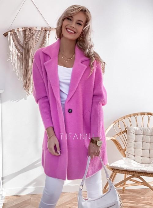 Płaszcz Alpaka pink 4