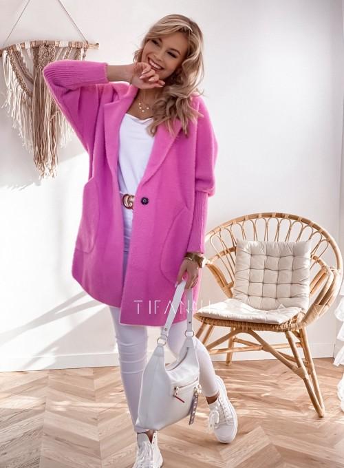 Płaszcz Alpaka pink 5