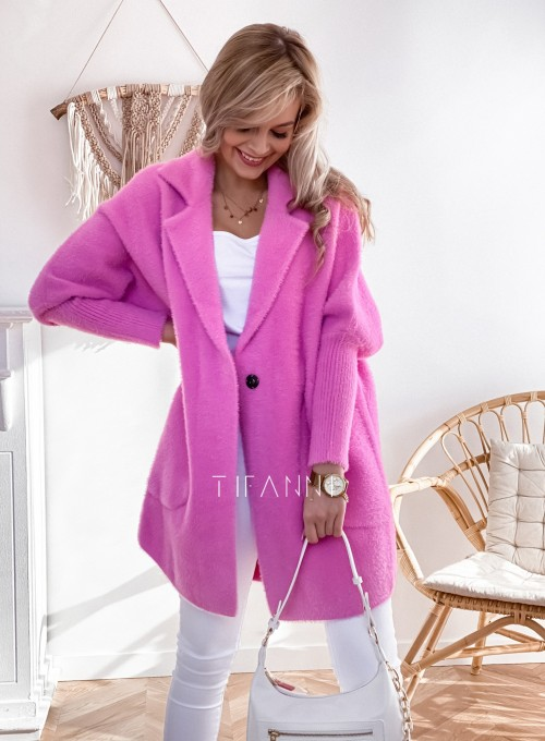 Płaszcz Alpaka pink 1