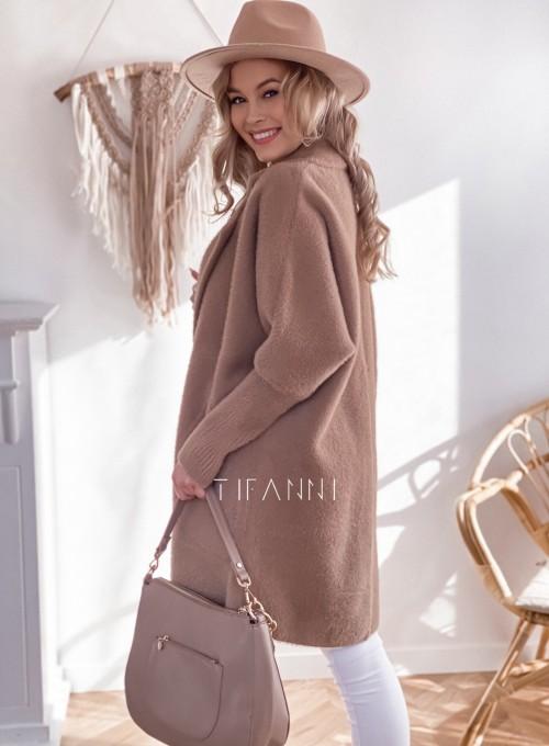 Płaszcz Alpaka nude 1