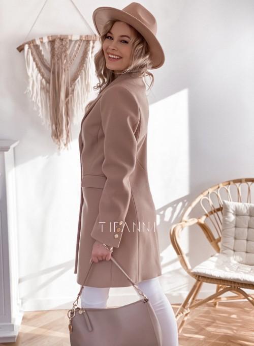 Płaszcz Margo nude 3
