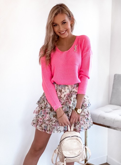 Sweter Santi light pink
