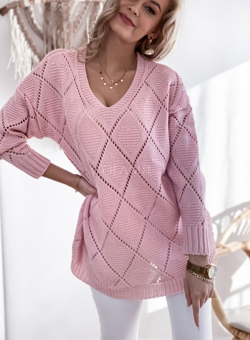 Sweter Dotty puder 5