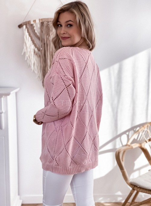 Sweter Dotty puder 6