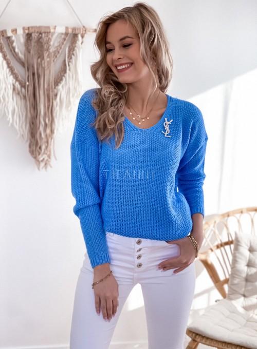 Sweter Santi blue 2