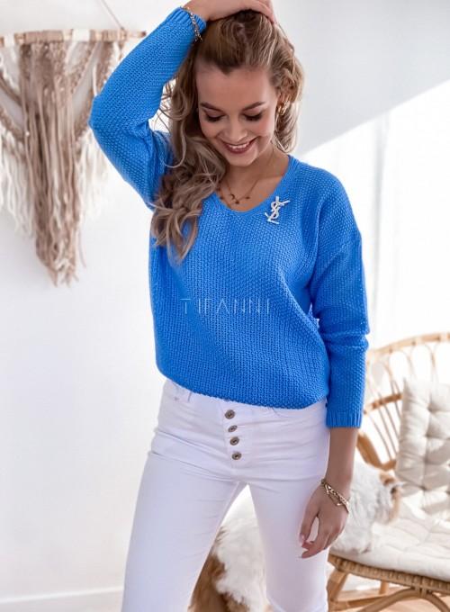 Sweter Santi blue 3