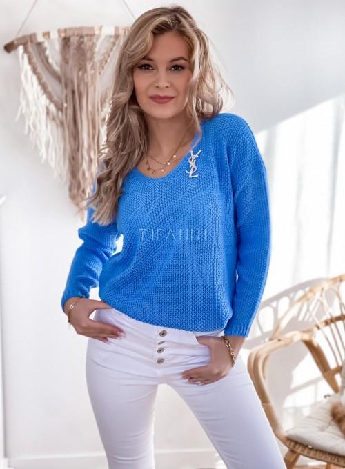 Sweter Santi blue 4