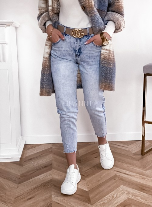 Spodnie jeansowe Mom Fit 5