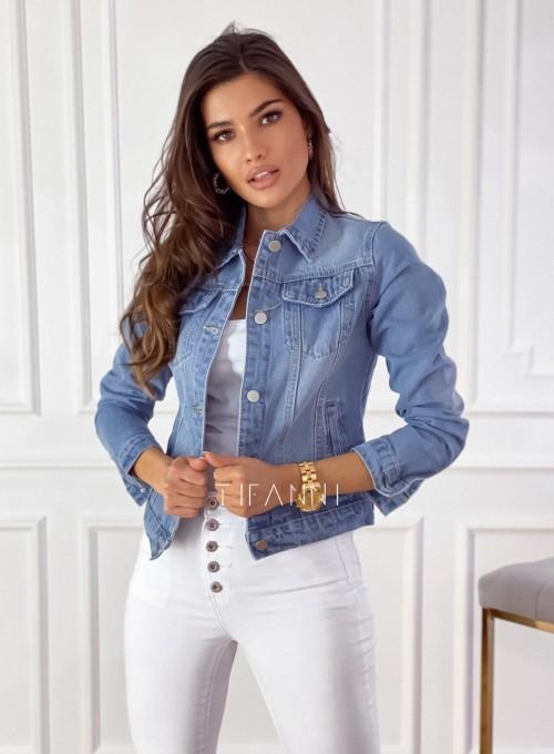 Klasyczna kurtka jeansowa typu katana