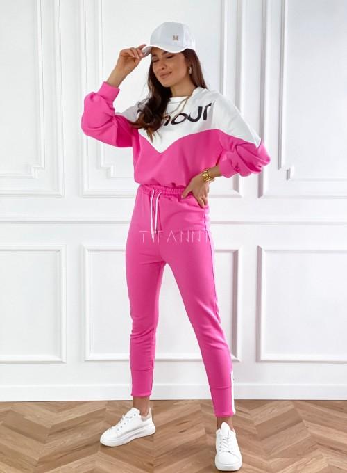 Dres dzianinowy Diori pink 2