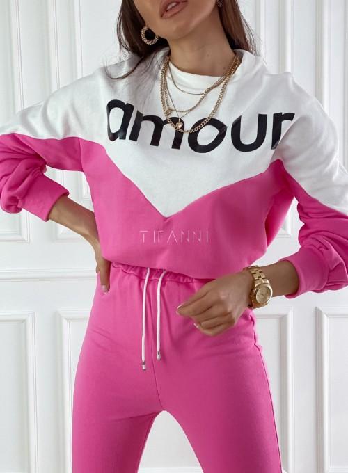 Dres dzianinowy Diori pink 1