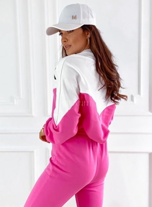 Dres dzianinowy Diori pink 5