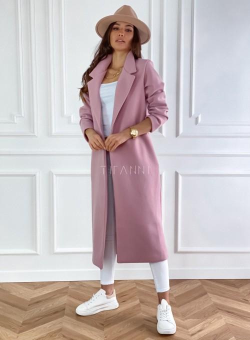 Płaszcz Ernesta w kolorze pudrowym 4