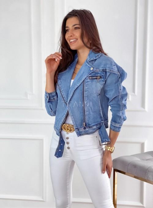 Ramoneska jeansowa Mellody